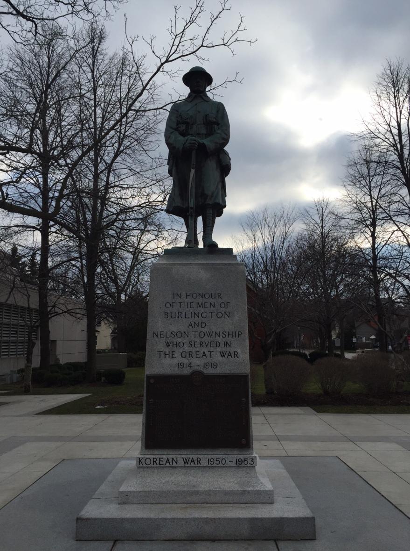 Burlington War Memorial by Ivor Lewis