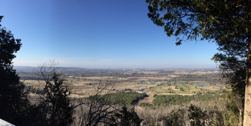 View from Mt Nemo