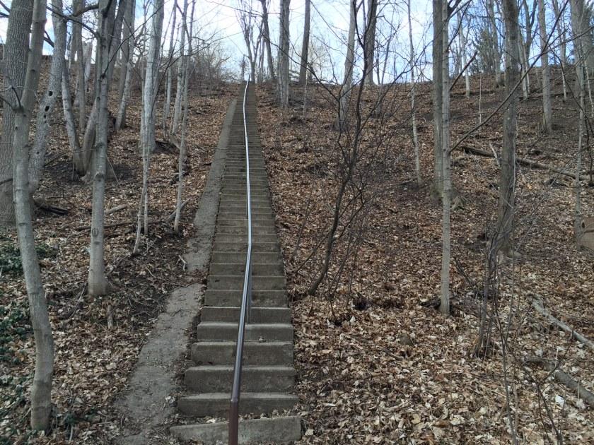 104 Steps at Lowville Park